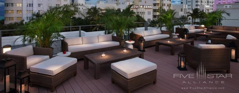 Rooftop Lounge at Redbury South Beach