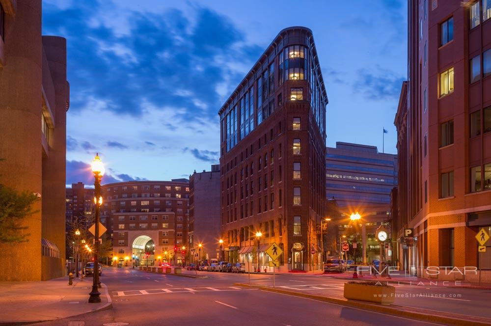 Exterior of The Boxer Boston Hotel