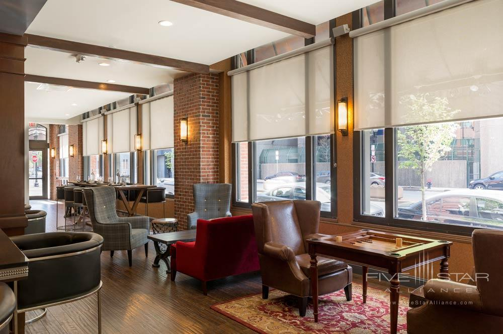 Finch Dining Room at The Boxer Boston Hotel