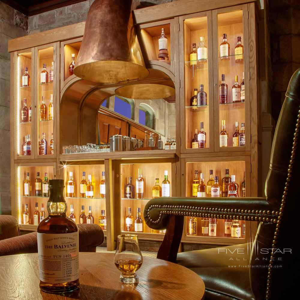 Whiskey Room at Cromlix House Hotel