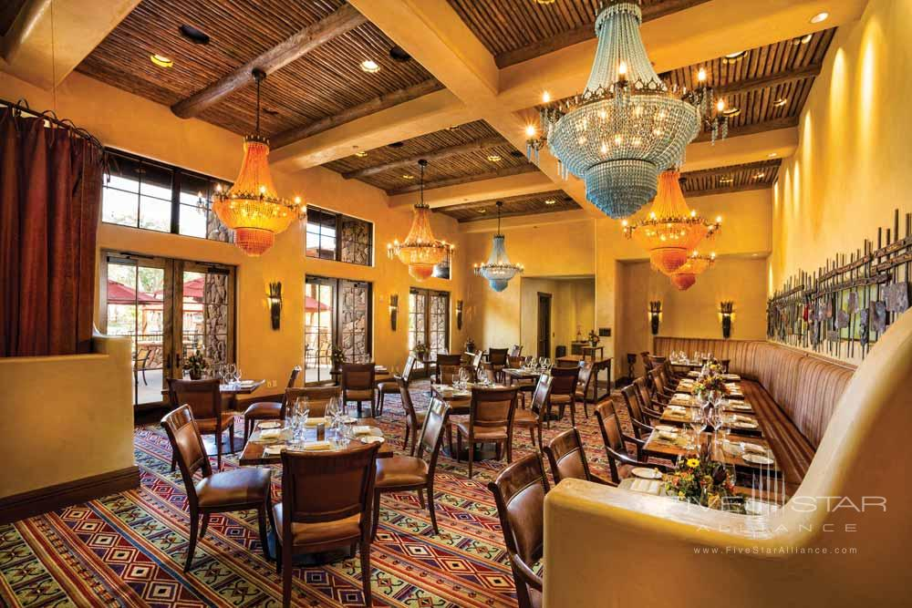 Dining Room Entrance at Gateway Canyons Resort and Spa