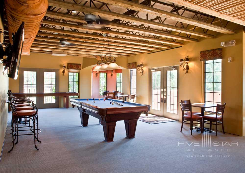 Paradox Game Room at Gateway Canyons Resort and Spa