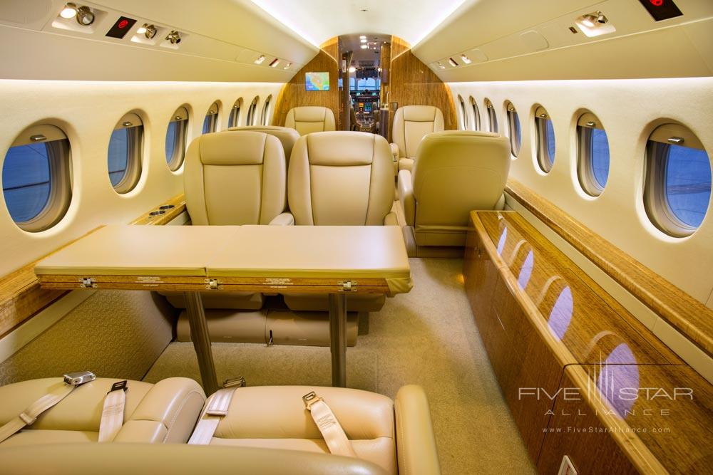 Interior of Private Plane at Gateway Canyons Resort and Spa