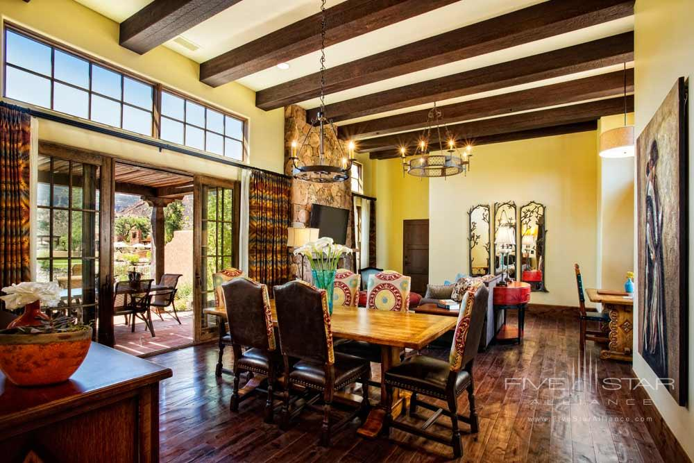 Casita Dining Room at Gateway Canyons Resort and Spa