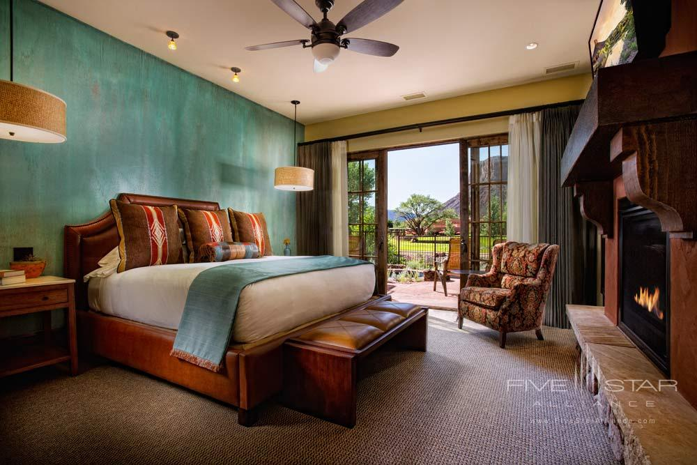 Hacienda Casita Bedroom at Gateway Canyons Resort and Spa