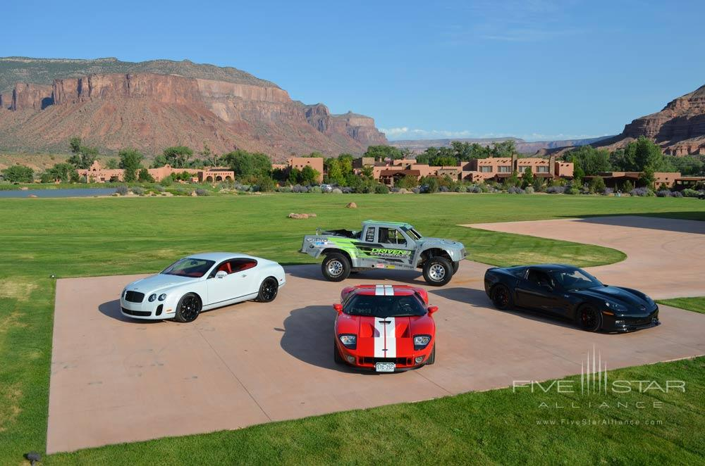 Vehicles Available for Resort Activities at Gateway Canyons Resort and Spa