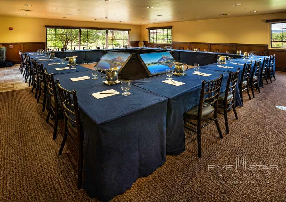 Boardroom Setup for Business Meetings atGateway Canyons Resort and Spa