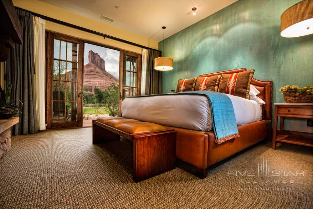 Casita Hacienda Bedroom at Gateway Canyons Resort and Spa
