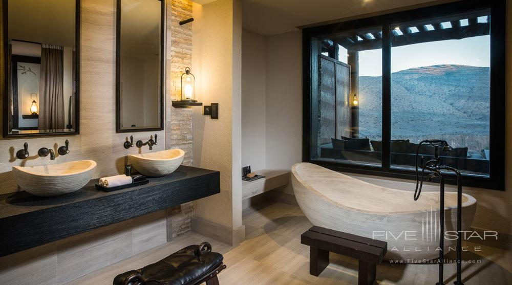 Suite Bath at Alila Jabal