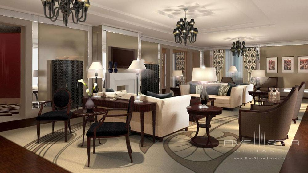 Suite Living Area at The Four Seasons Hotel Moscow