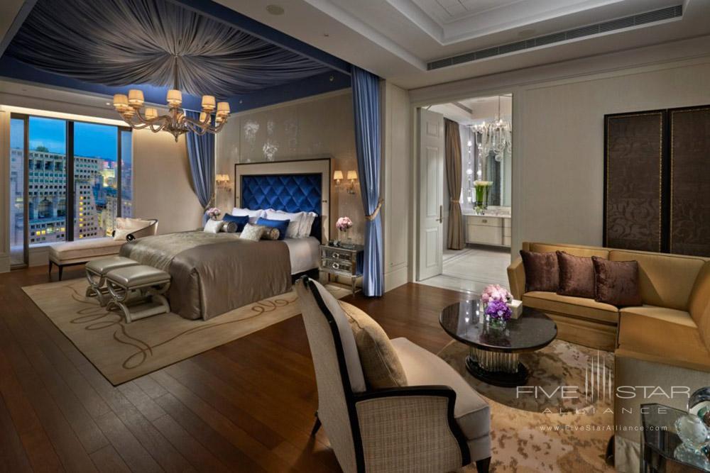 Presidential Suite Bedroom at Mandarin Oriental TaipeiTaiwan