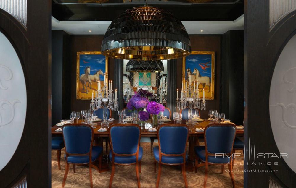 Presidential Suite Dining Room at Mandarin Oriental TaipeiTaiwan