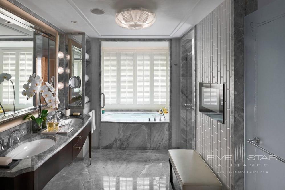 Premier Club Room Bath at Mandarin Oriental TaipeiTaiwan