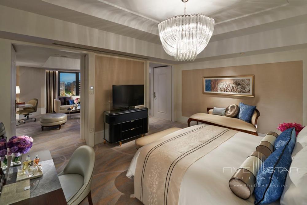 Suite Club Boulevard Bedroom at Mandarin Oriental TaipeiTaiwan
