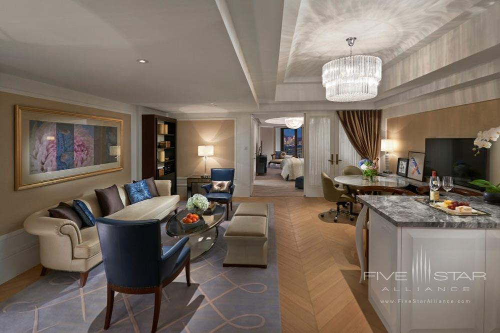 Suite Club Lifestyle Living Room at Mandarin Oriental TaipeiTaiwan