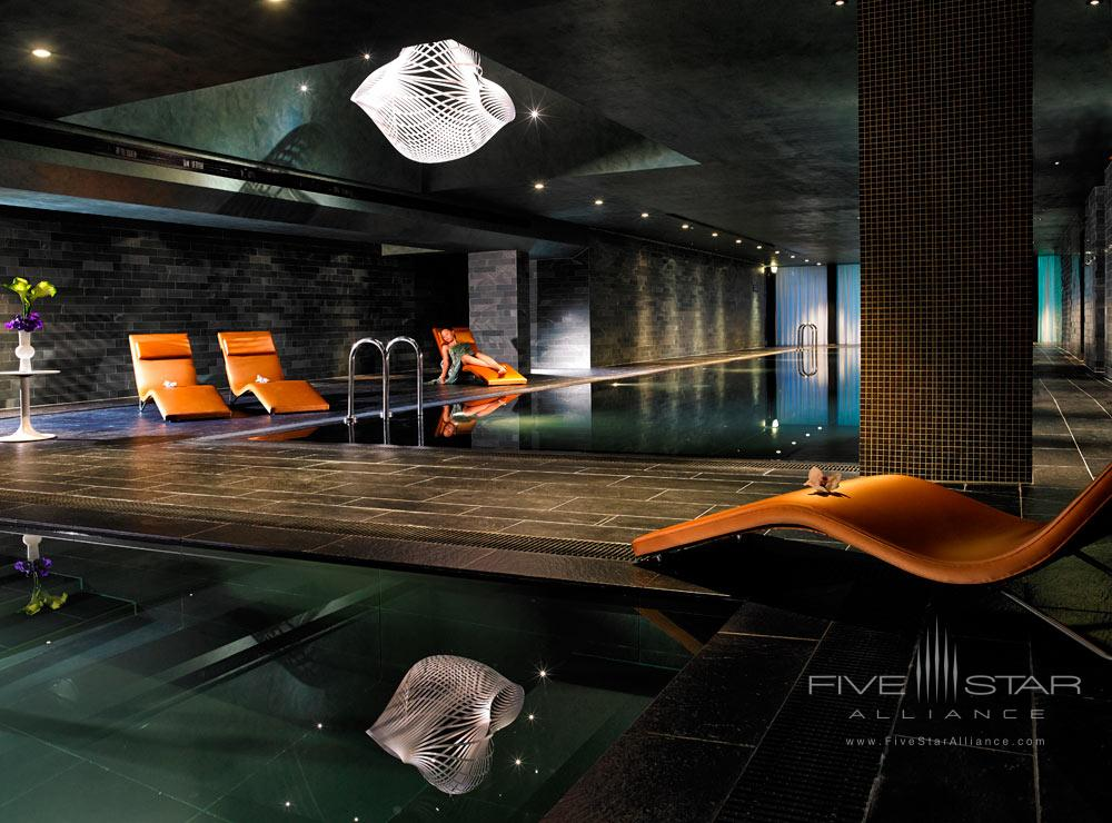 Indoor Pool at The Marker Hotel Dublin
