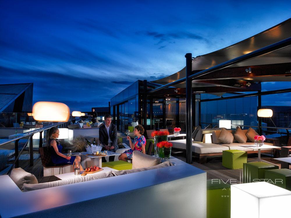 Rooftop Terrace & Bar at The Marker Hotel Dublin
