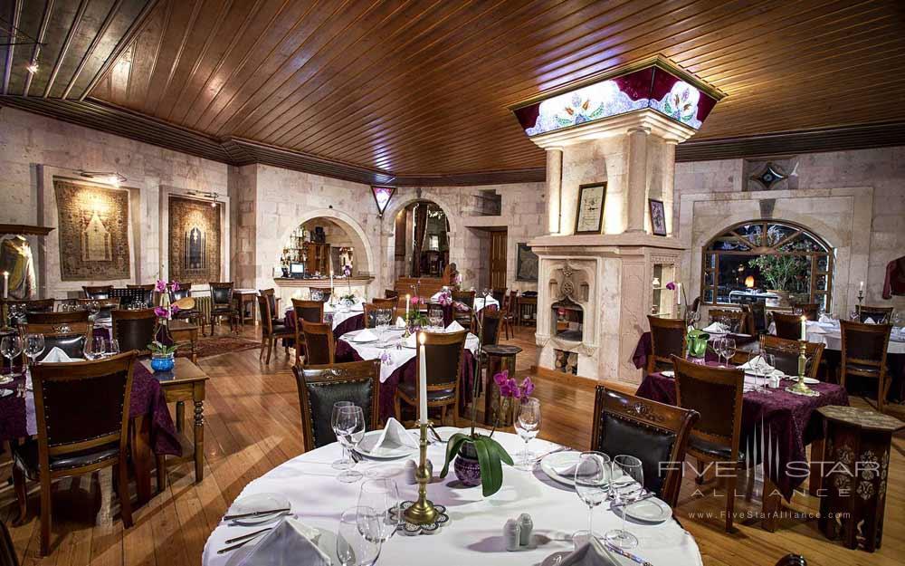 The Lila Restaurant at Museum Hotel Cappadocia