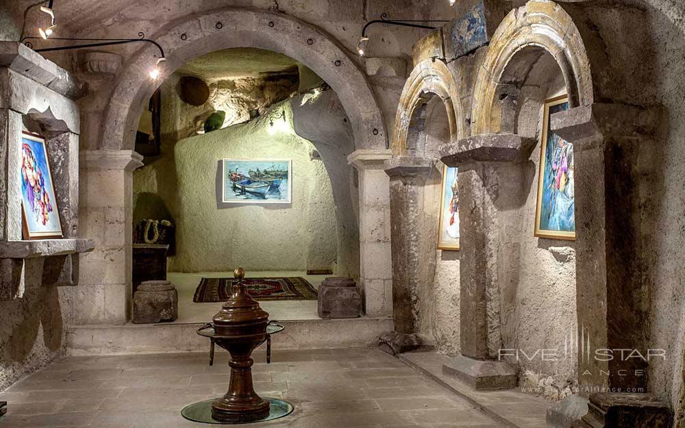 Art Gallery at Museum Hotel Cappadocia