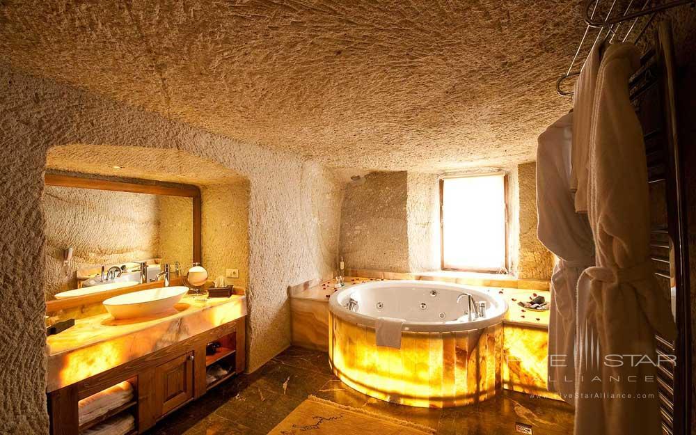 Museum Hotel Cappadocia Gulistan Cave Suite Bath