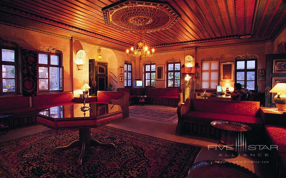 Museum Hotel Cappadocia Reception Area