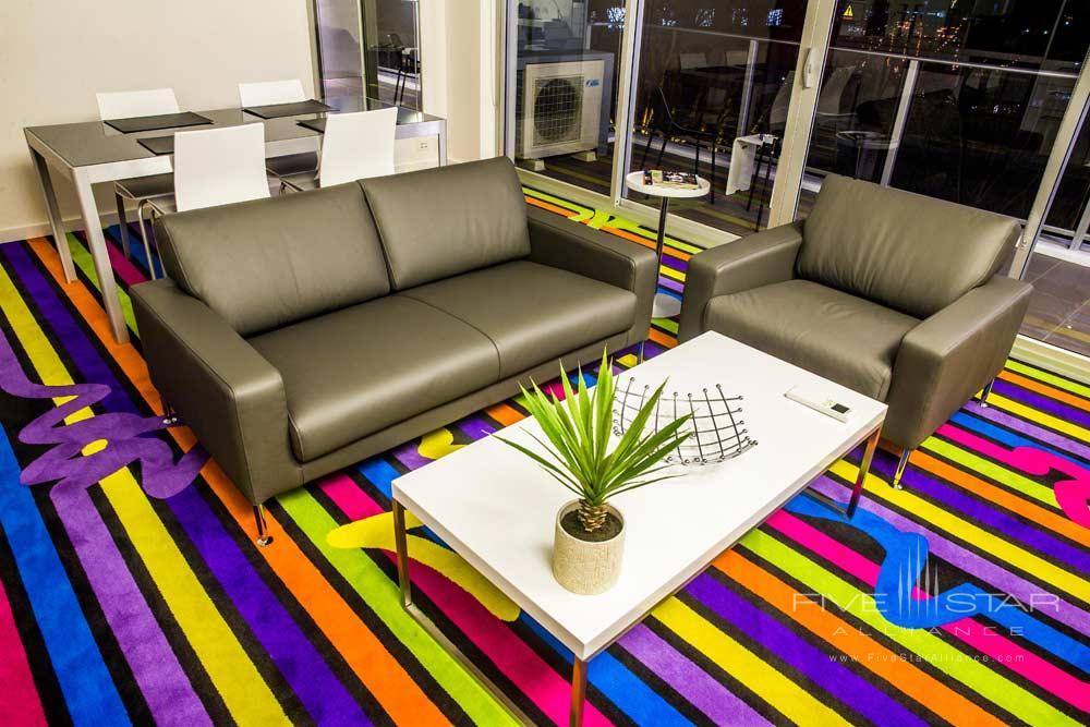 Eastside Lounge at ADGE Apartment Hotel Sydney