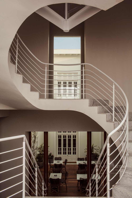 Lobby Staircase at Hotel B Lima