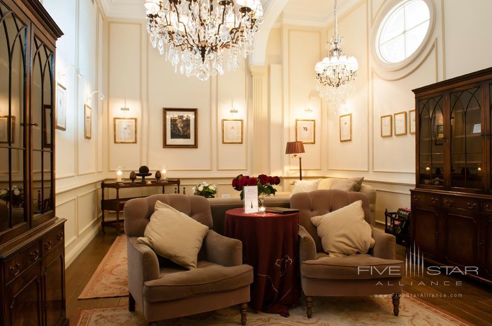 Hotel De Tuileriee Bruges Sitting Area