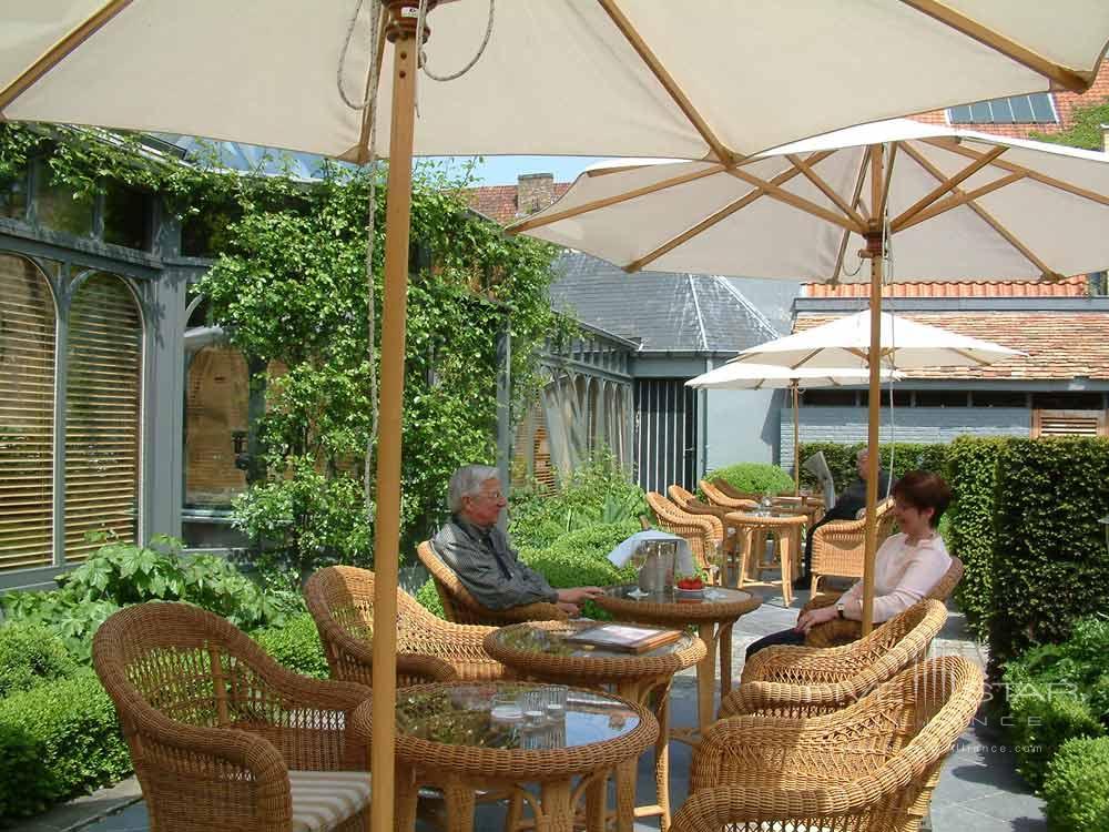 Hotel De Tuilerieen Bruges Private Outdoor Area