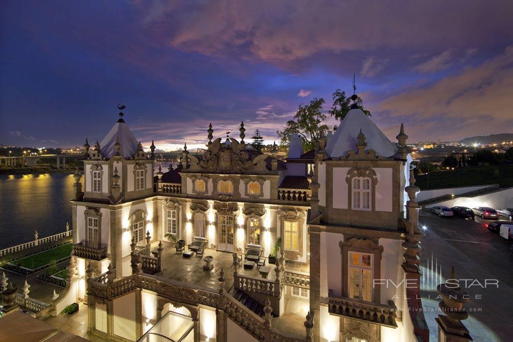 Poudada Do Porto Freixo Palace Hotel Exterior