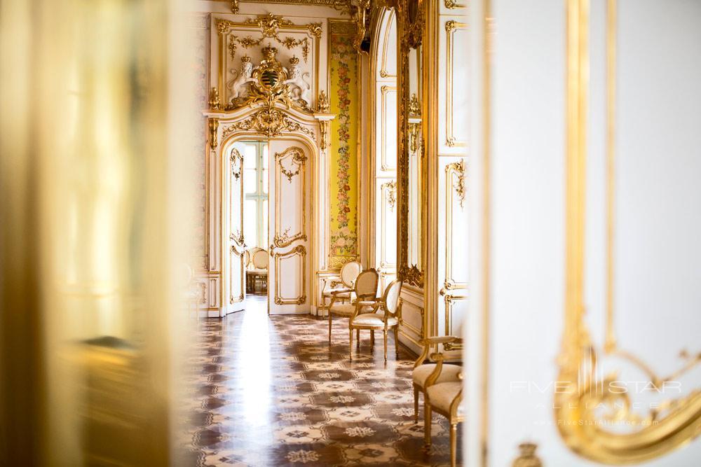 Hall at Palais Coburg Residenz Vienna