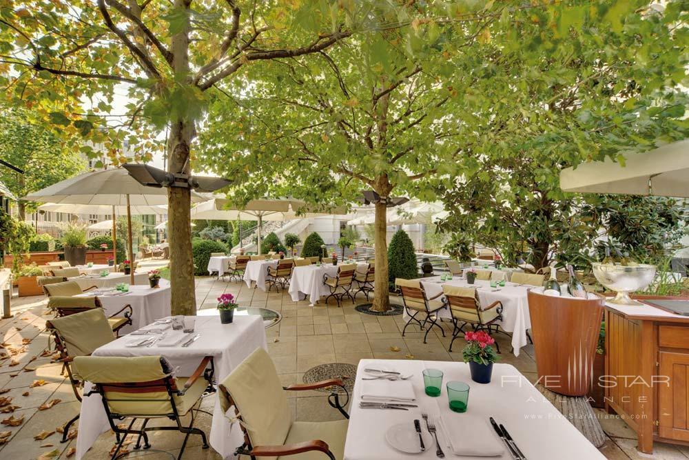 Basteigarten Restaurant at Palais Coburg Residenz Vienna