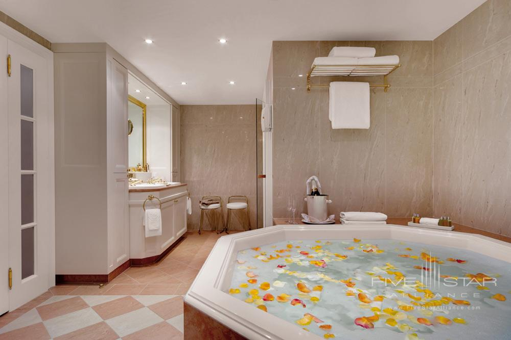 Imperial Suite Bath at Palais Coburg Residenz Vienna