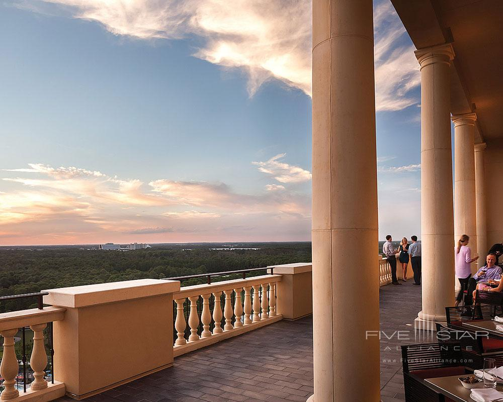 Capa Terrace Sunset at Four Seasons Orlando