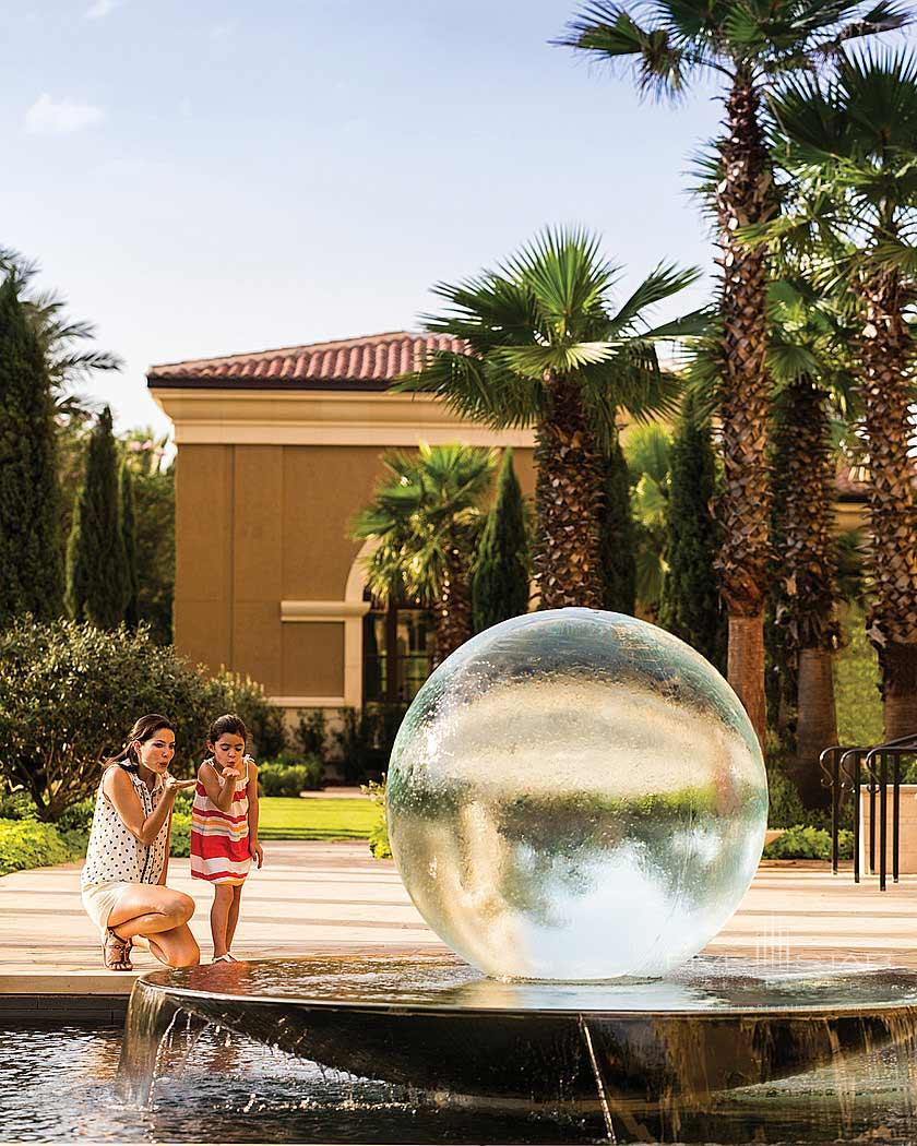 Ravello Fountain at Four Seasons Orlando