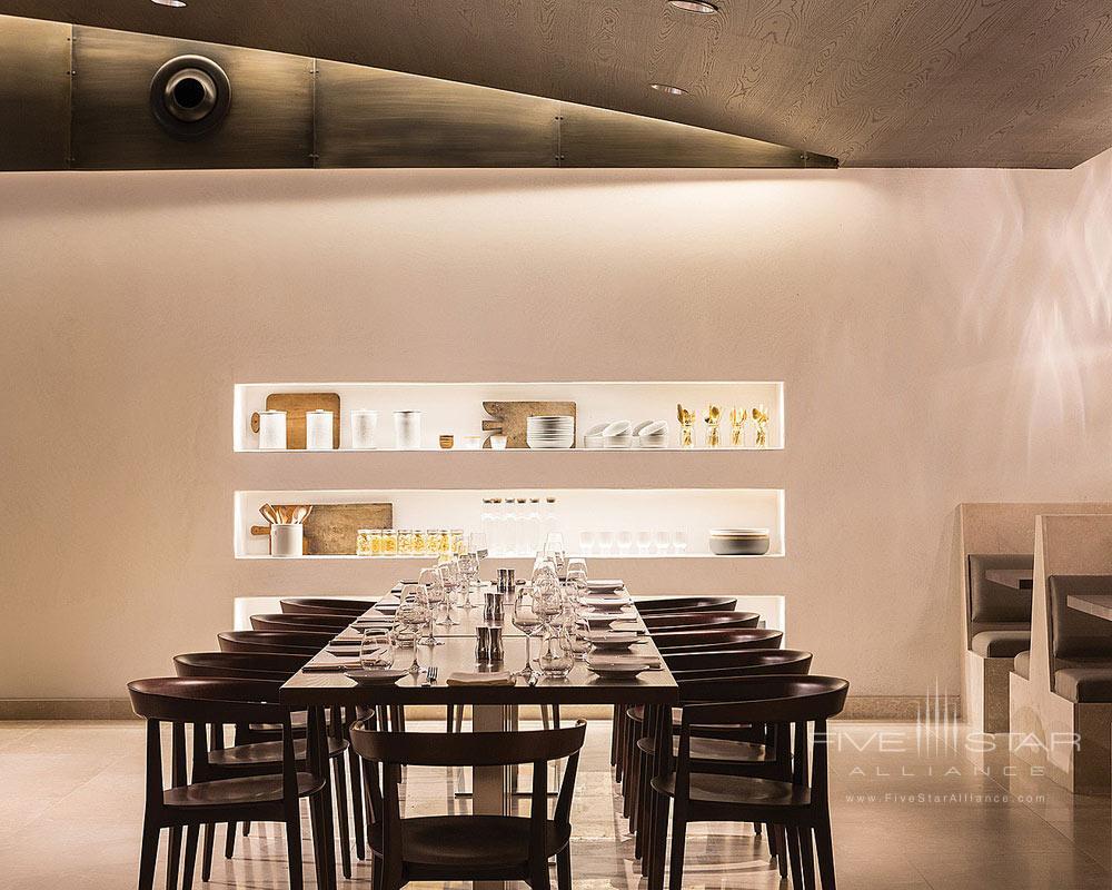 Ravello Restaurant Seating Detail at Four Seasons Orlando