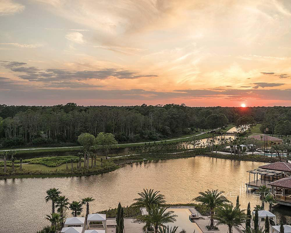Resort Lake on the Park Side at Four Seasons Orlando