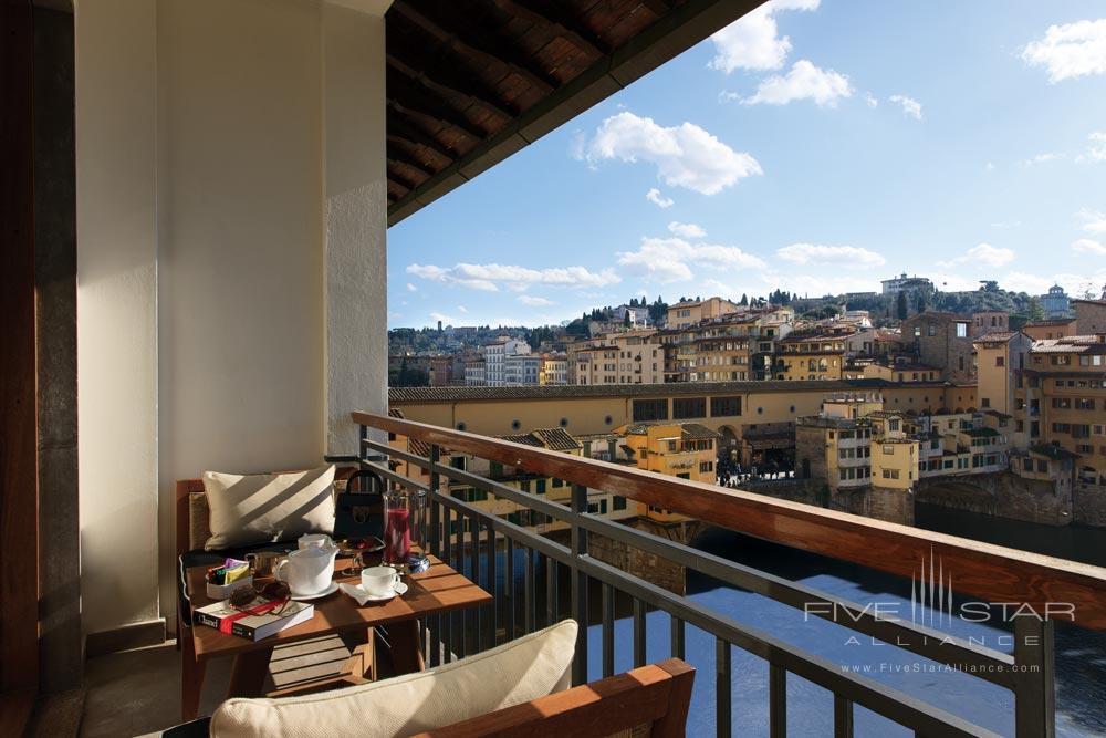 Terrace View at Portrait Firenze