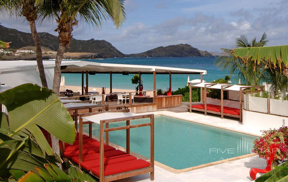 Outdoor Pool at Hotel Taiwana, St. Barthelemy