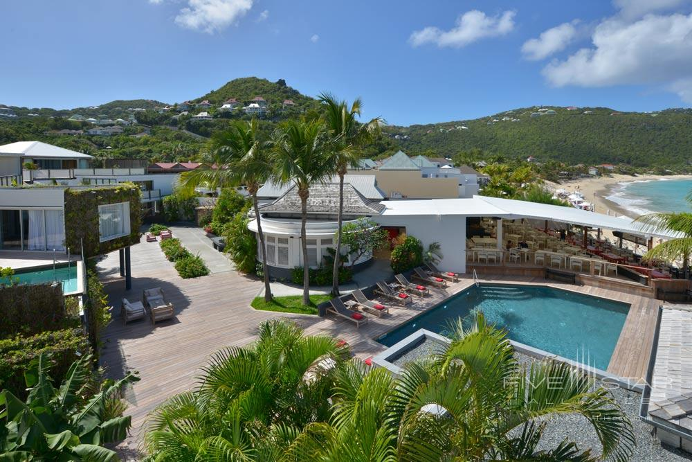 Overview of Hotel Taiwana, St. Barthelemy