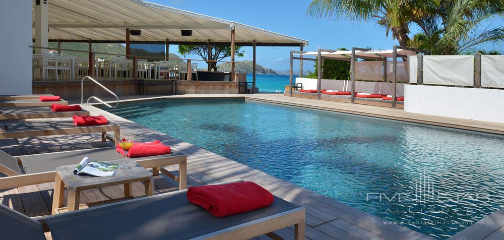 Pool at Hotel Taiwana, St. Barthelemy