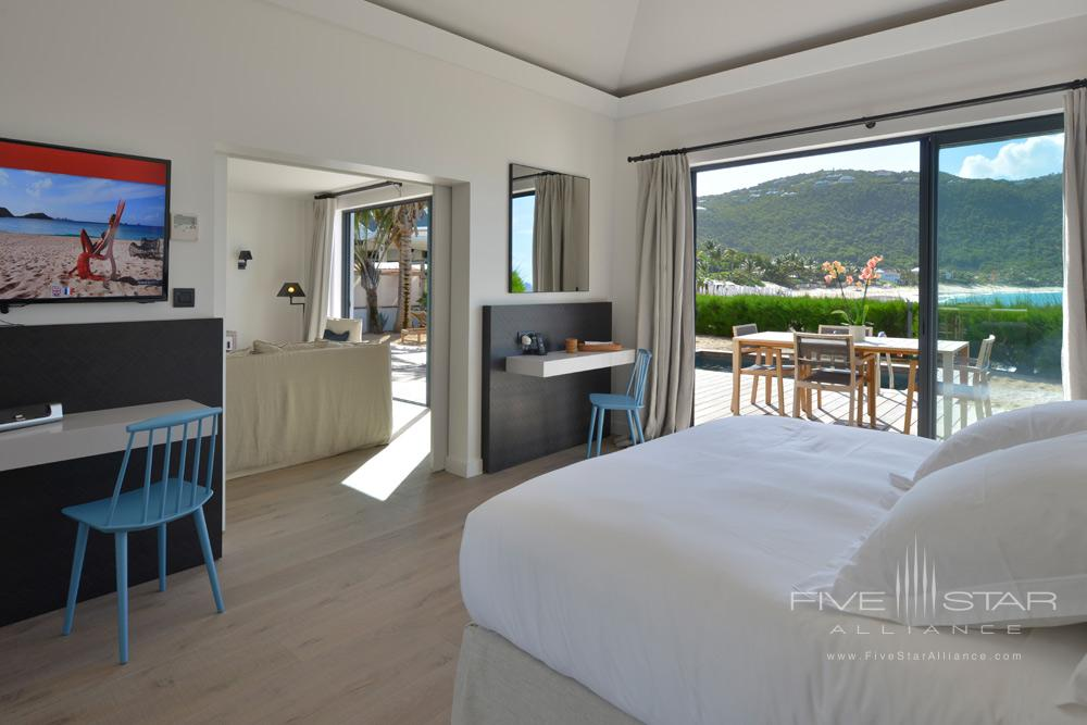 Beachfront Suite with Pool at Hotel Taiwana, St. Barthelemy