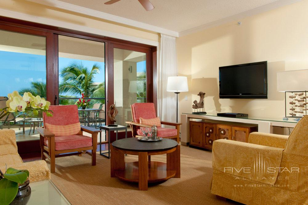 Living Area at Montage Kapalua Bay