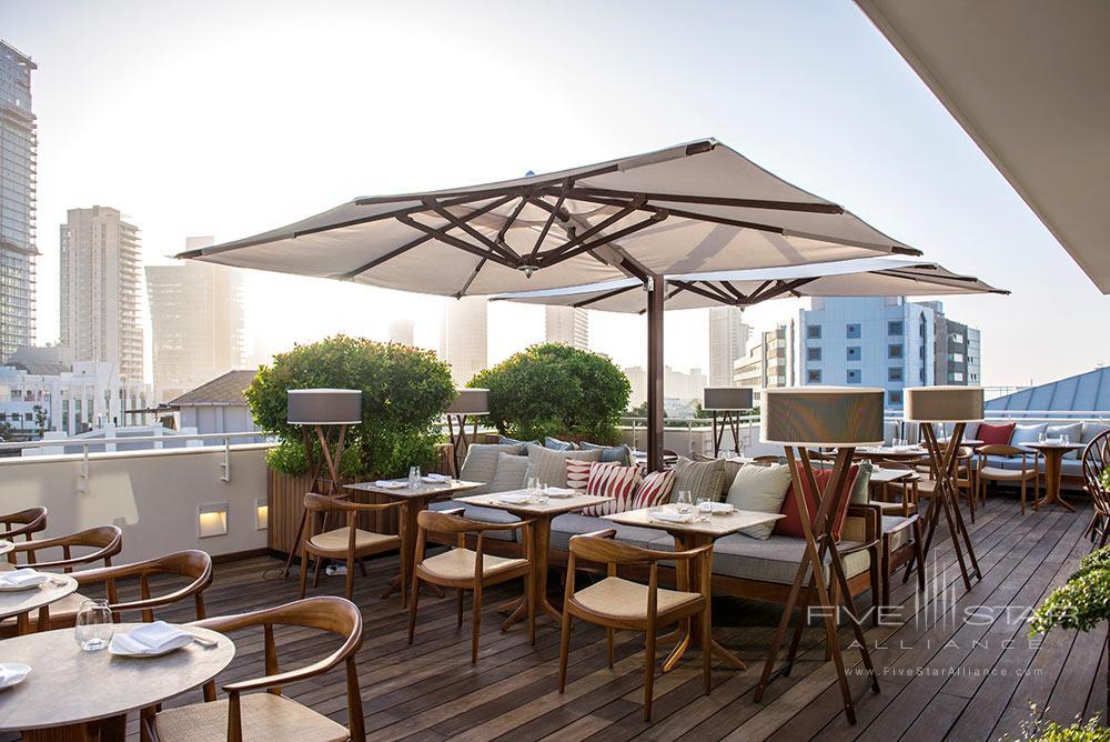 Terrace Dining at The Norman Tel AvivIsrael
