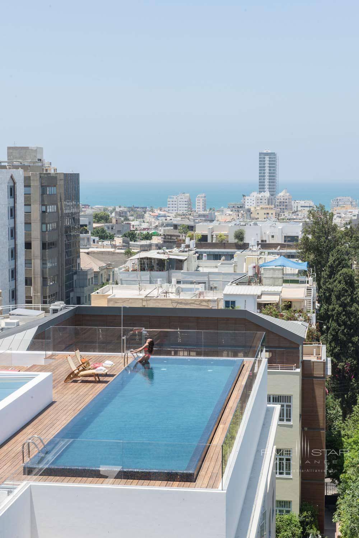 Rooftop Pool at The Norman Tel AvivIsrael