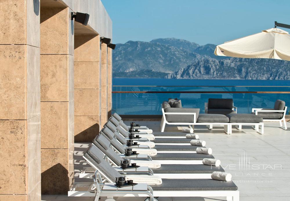 Terrace Lounge at D-Hotel Maris, Turkey