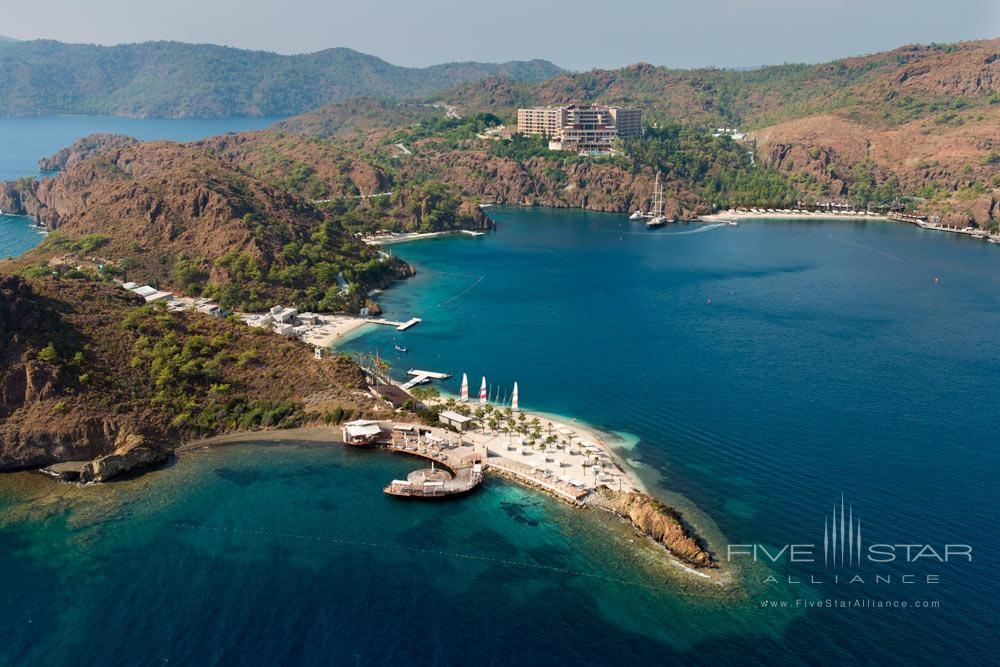Aerial View of D-Hotel Maris, Turkey