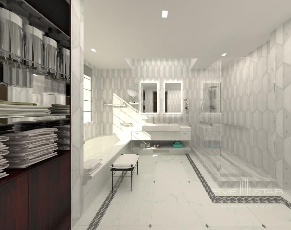 Bath at The Marmara Park AvenueNew York