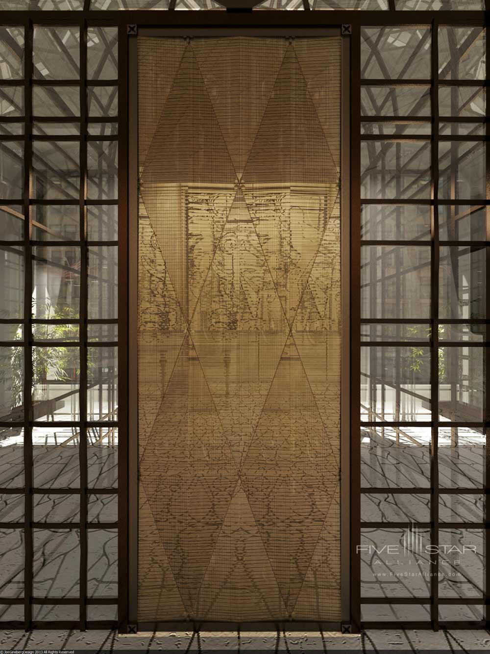 Entrance of The Marmara Park Avenue New York