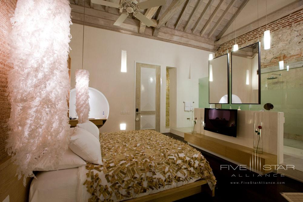Ziberline Bedroom at Tcherassi Hotel Cartegena, Columbia